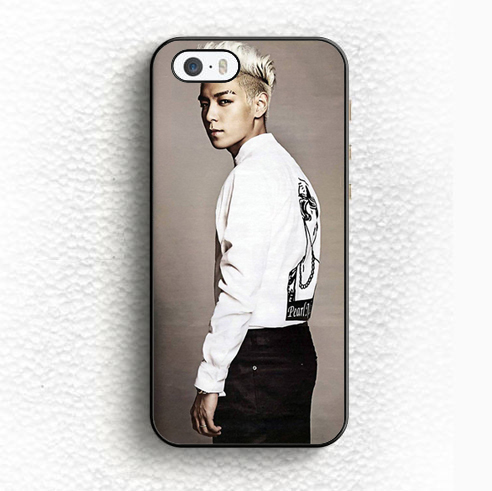 TOP t.o.p. Big Bang Cool Kpop Soft TPU Black Skin Mobile Phone Case For iPhone 6 6S Plus 5 5S 5C SE 4 4S Back Shell Case Cover(China (Mainland))
