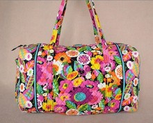 VB large luggage Pure cotton cloth bags sport bag for women Large Duffel(China (Mainland))