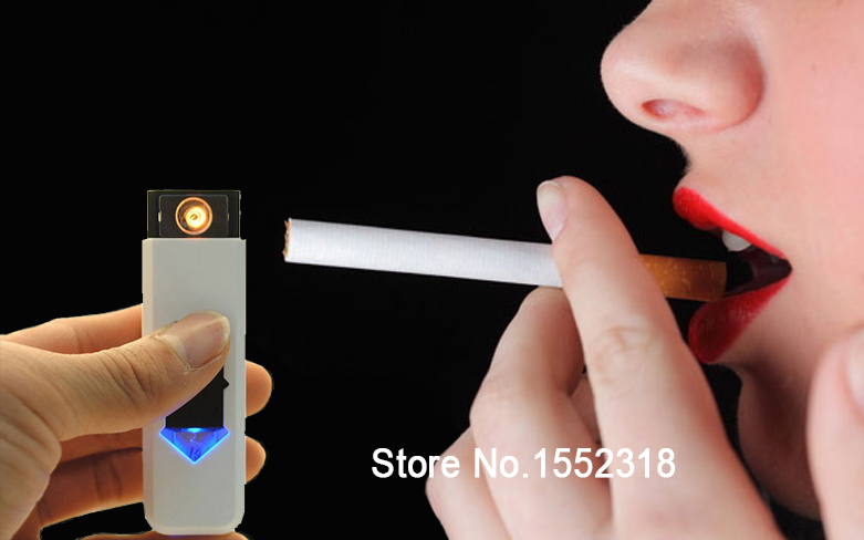 2014 New USB Electronic Rechargeable Battery Flameless Cigarette Cigar Lighter Multi-Color Lighters & Smoking Accessories  -  Honesty Boutique CO.,LTD store