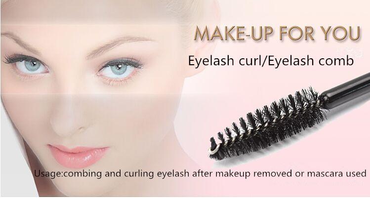 High quality Make up for you Eyelash comb eyelash brush eyebrow comb factory price ..(China (Mainland))