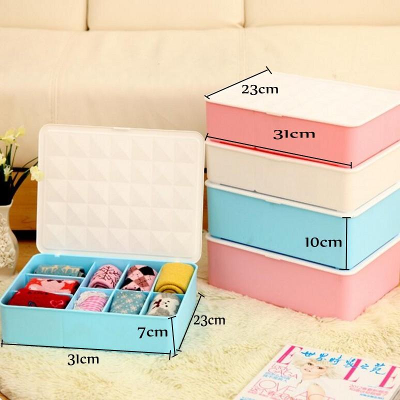 Creative Home Multifunctional Storage Cabinet Organized Fashion Bra Ruled Flip Socks Underwear Cosmetic Storage Organizer(China (Mainland))