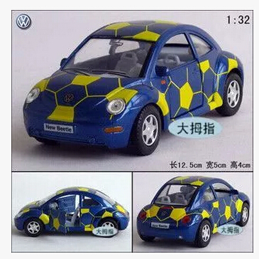 2015 Automobiles Brinquedos Toys For Kids Cars Toys For Children'S Toys The Beatles Football Car Beetle Alloy Car Models(China (Mainland))