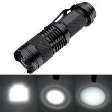 CREE Q5 Mini LED Flashlight 14500 AA Torch 1200LM Zoomable Lamp Adjustable Focus Zoom Flash Light Waterproof Linternas Penlight(China (Mainland))