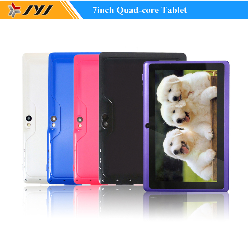 New 7 inches touch screen ultra slim Quad core 512MB ram 8G rom android 4.4 kitkat otg android tablet pcs(China (Mainland))