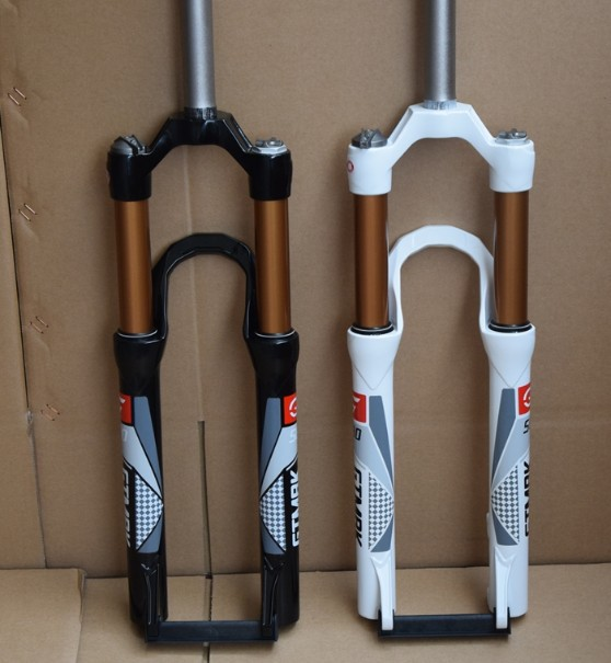"""Urltra-Light Magnesium aluminum alloy bicycle front fork/ mountain bike fork/ 26 """" bicycle suspension fork/ cheap mtb forks(China (Mainland))"""