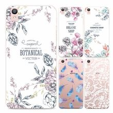 Buy New Flower Design Protective Case OPPO R9 Beautiful Girl Feather Soft Slicone TPU Coque OPPO r9 Mobile Cover Shell Back for $2.10 in AliExpress store