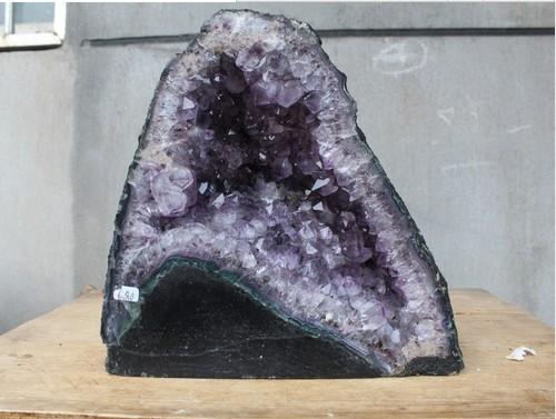 £ Naturel amethyst geode QUARTZ cristal Agate geode Cluster spécimen Point guérison(China (Mainland))