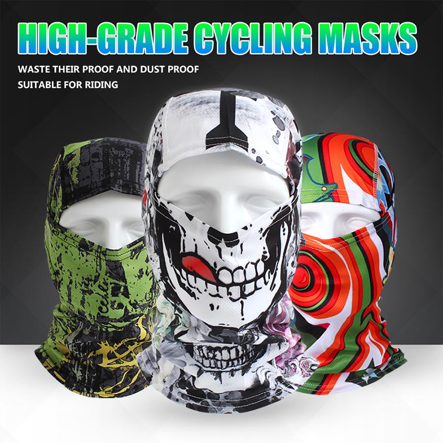 Outdoor Sports Skull Face Mask Winter UV Protect Cycling Breathable Windbreak Dustproof Riding Cap Headscarf MTB Road Bike Masks(China (Mainland))