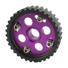 Cam Gear B16a HK5 Racing Car Adjustable Purple Engine Motor Cam Gear Camshaft Aluminum For Honda