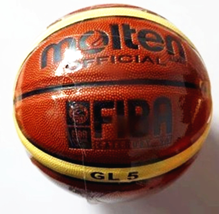 NEW Brand High Quality Molten GL5 Basketball Ball PU Materia Official Size5 Basketball Free With Net Bag+ Needle+Pump(China (Mainland))