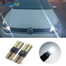 Buy 2X Canbus T10 W5W 24 LED Car Clearance Lights Parking light VW POLO Golf 5 6 7 GTI Passat B5 B6 B7 Jetta Bora MK5 MK6 Tiguan for $4.59 in AliExpress store