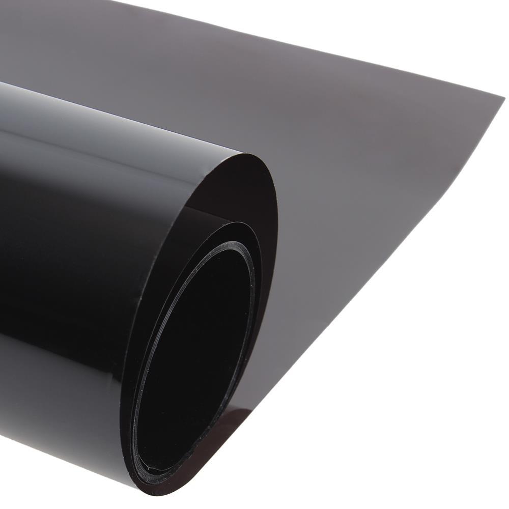 50cm x 300cm Dark Black Car Window Tint Film Glass VLT 5% Roll 1 PLY Car Auto House Commercial Solar Protection Summer(China (Mainland))