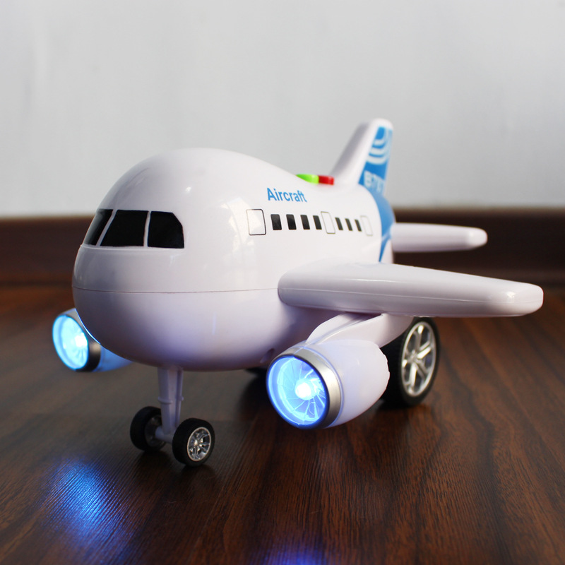 1 Pcs Electric Airplane Flash Sound Aircraft A380 Toy Model Flashing Plane Children Kids Gifts Diecasts & Toy Vehicles ABS(China (Mainland))