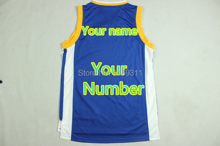 Free Shipping,Personalized or Customized men's basketball jerseys,Custom any player name and number,Embroidery and Sewing logos(China (Mainland))