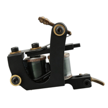 Imported Black Bat Coil Tattoo Machine 12 Coils Tattto Shader Gun(China (Mainland))