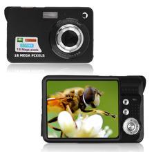 Black 9.5 * 6 * 2.5cm TF card JPEG / AVI CMOS Senor 2.7'' TFT LCD HD 720P 18MP Digital Camcorder Camera 8x Zoom Anti-shake US(China (Mainland))
