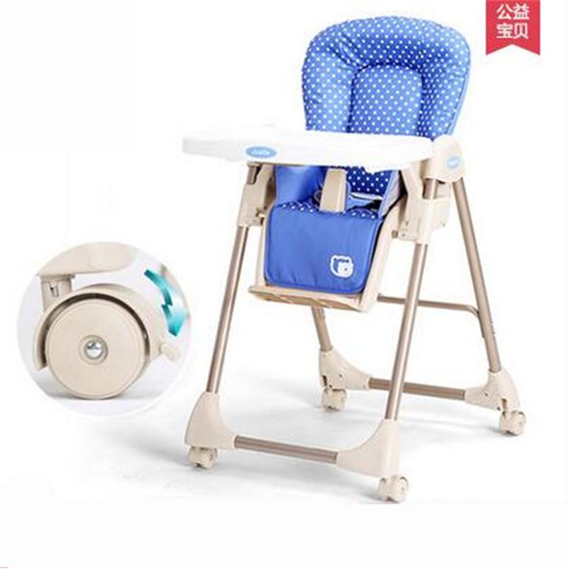 Infant High Chair Folding Multi Colors Portable High Chair Baby Safety Feedin