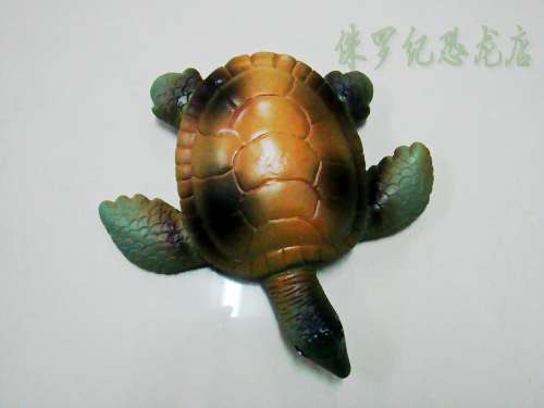 Vinyl turtle tortoise ocean animal toy marine model toy(China (Mainland))