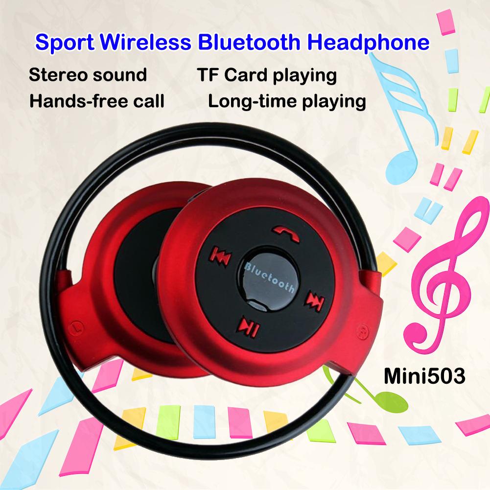 Newest Mini503 Wireless Sport Bluetooth Headset Mini Headphones Music Stereo Earphones Support iPhone/HTC/Samsung PC Sony PSP(China (Mainland))