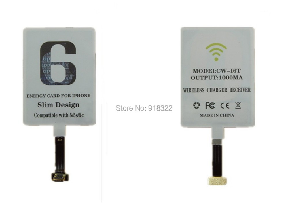Wireless Charger Receiver Mould iPhone 6 5 5S 5C - QI wireless charger store