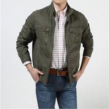 Free shipping !!! New tide Men's Brand Spring autumn fashion Outdoor 100%cotton Thin section jean jacket Detachable cap / M-XXXL