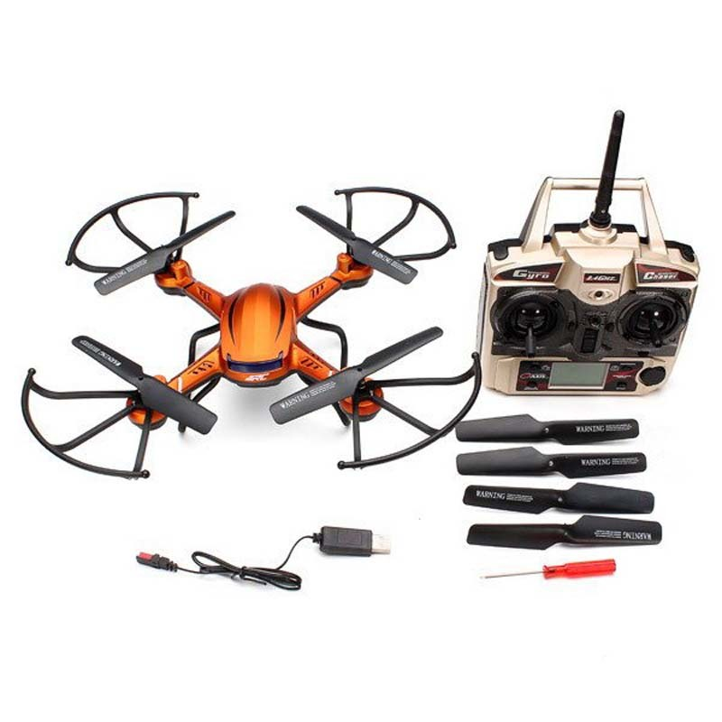 Hot Sale RC Drone Toys JJRC H12C 6 Axis Headless Mode 2.4G 4CH RC Quadcopter 360 Degree Rollover UFO without Camera For Toy Gift(China (Mainland))