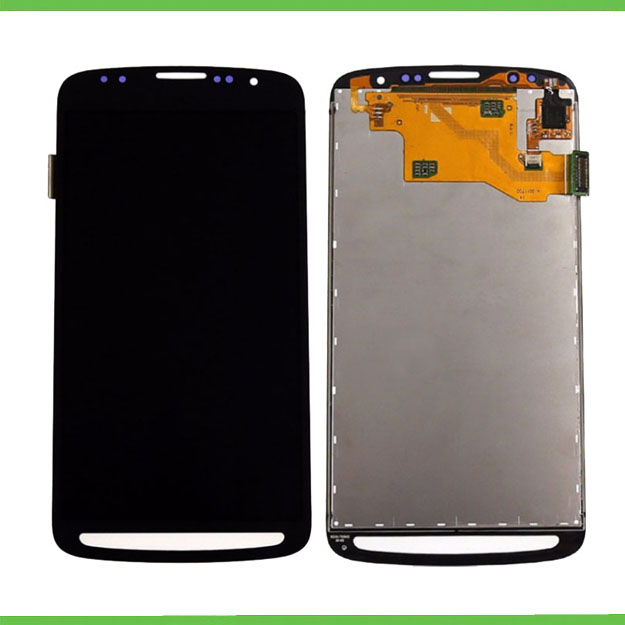 100% tested Grey for samsung galaxy s4 active i9295/i537 LCD display touch screen digitizer assembly free shipping