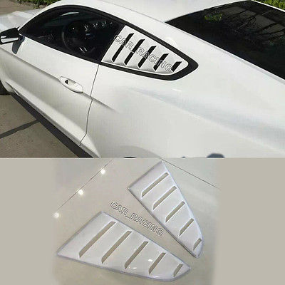 Rear Window Side Vent Grill Fit for Ford Mustang Coupe 2015(China (Mainland))