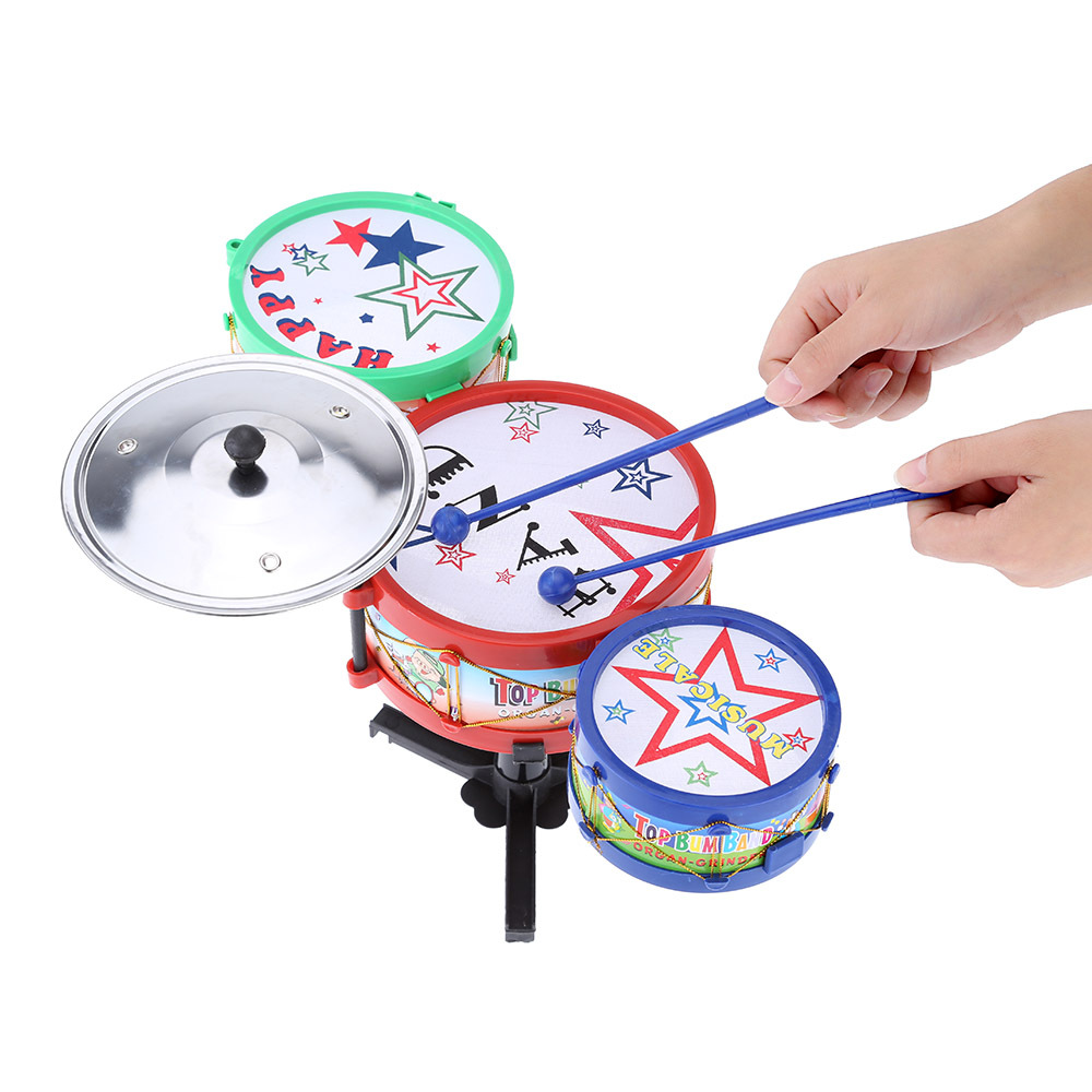 High Quality Kids Electronic Drum Toy Small Jazz Drum Toy Baby Kids Children Early Childhood Toy Musical Instrument(China (Mainland))
