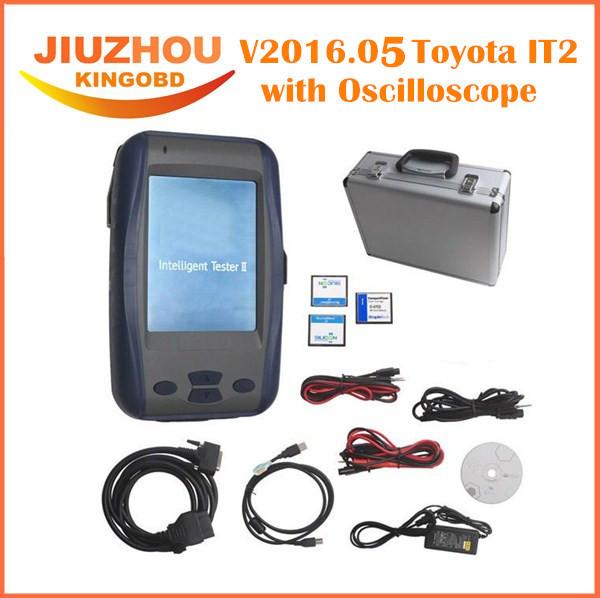 professional Car diagnostic tool suzuki TOYOTA DENSO Intelligent Toyota Tester 2 toyota tester2 toyota IT2 with Oscilloscope(China (Mainland))