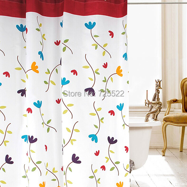 Promotion!1 Piece 180*180cm waterproof thicken High-grade polyester Eco-Friendly shower curtain - Huarlily Import & Export Co., Ltd. store