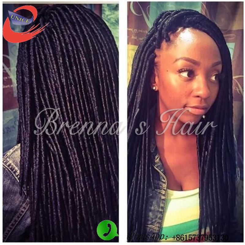 New-soft-dread-lock-hair-Faux-Locs-Braid-Hair-crochet-black-dreadlocks ...
