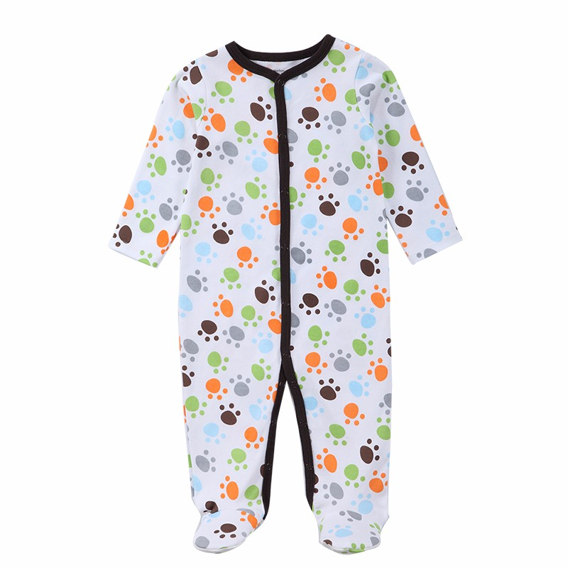 Luvable Friends WinterSpring Baby Pajamas Baby Romper Infant Jumpsuit Overall Long Sleeve Body Suit Baby Clothing (8)