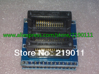 1PCS SOP28 to DIP28 IC socket Programmer adapter Socket High Quality OTS-28-1.27-04 for PIC16F876 STC12C5608 And so on