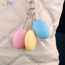 (Wholesale) 100pcs/lot Personal Portable Guard Safety Security Alarm Keychain , Mini size High volume Women personal alarm(China (Mainland))