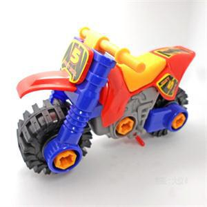 Plastic Mini Motorcycle Diecast Toy Vehicle for Kids Intellectual Educational Motorcycle Toy(China (Mainland))
