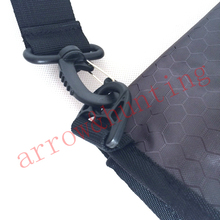 archery recurve bow case hunting rolled up bow bag to set bow arrow puller arm guard