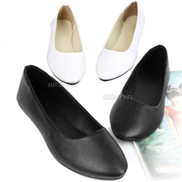 Гаджет  2014 New Spring Autumn Womens Ladies Casual Comfy Ballet Ballerina Slip Flats Slippers Flat Shoes None Обувь
