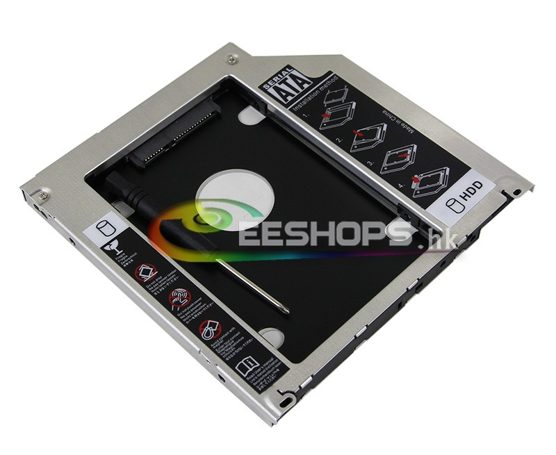 for Apple Macbook Pro A1278 A1286 A1342 A1322 2nd HDD SSD Caddy Second Hard Disk Drive CD DVD SuperDrive Optical Bay Replacement<br><br>Aliexpress