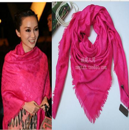 (CZ0128)140cm*140cm New Fashion Brand Scarf Women Winter Silk Square - Sweet Heart Store store