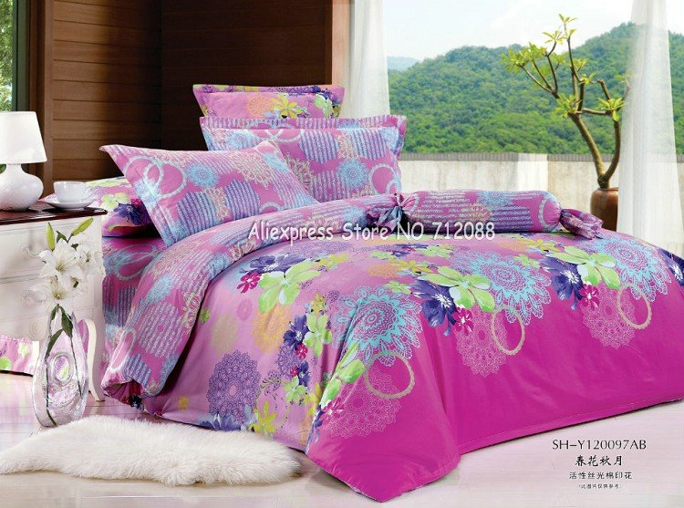 Green and purple bedding - Green and purple comforter ...