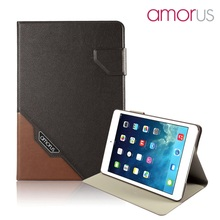 AMORUS Case for Apple iPed mini 3 / 2 / 1 Case Premium Business Smart PU Leather Tablet Cover(China (Mainland))