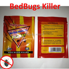 Hot Sale Powerful Effective bedbugs killer Bait Powder to Kill BedbugsPest Control idea for Home(China (Mainland))