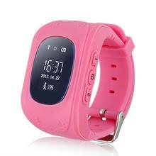 Q50 GSM GPRS Smart Watch Children Kid Intelligent Locator Tracker Anti-Lost Smart Wristband Remote Monitor Smartwatch(China (Mainland))