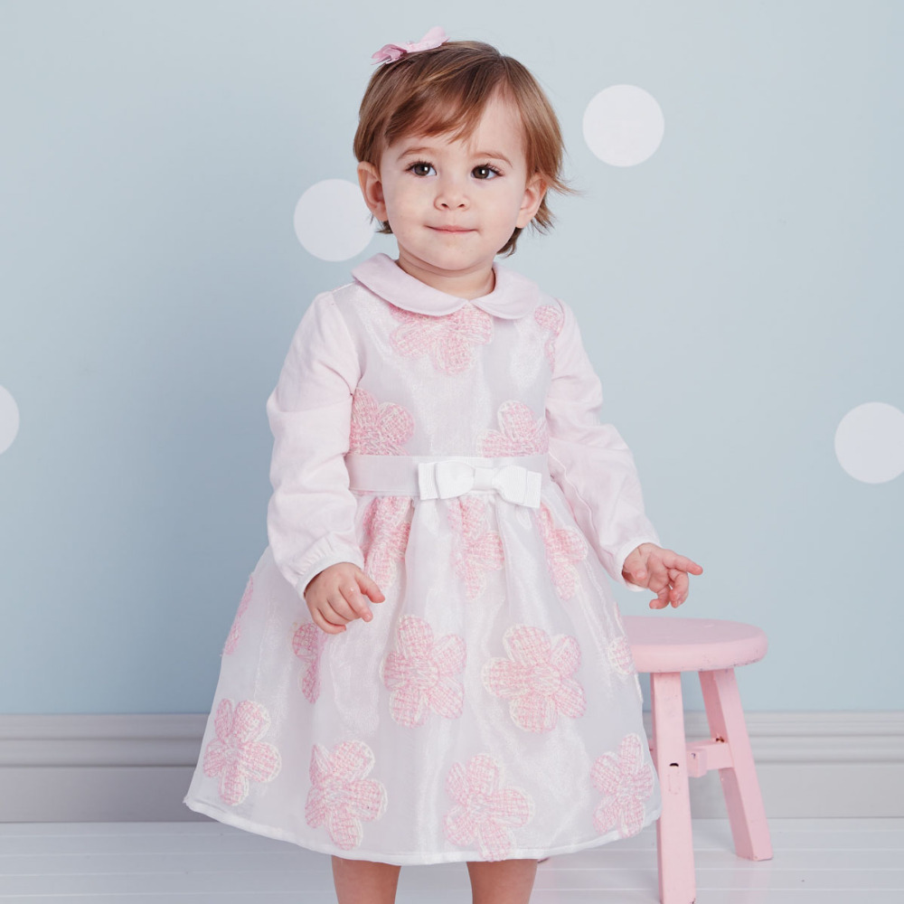 Brand long sleeve infant toddler baby girl princess party