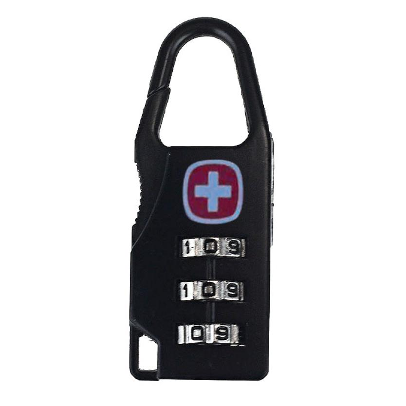 June 1 Mosunx Business Travel 3 Digit Code Safe Combination Luggage Lock Padlock Suitcase Black(China (Mainland))