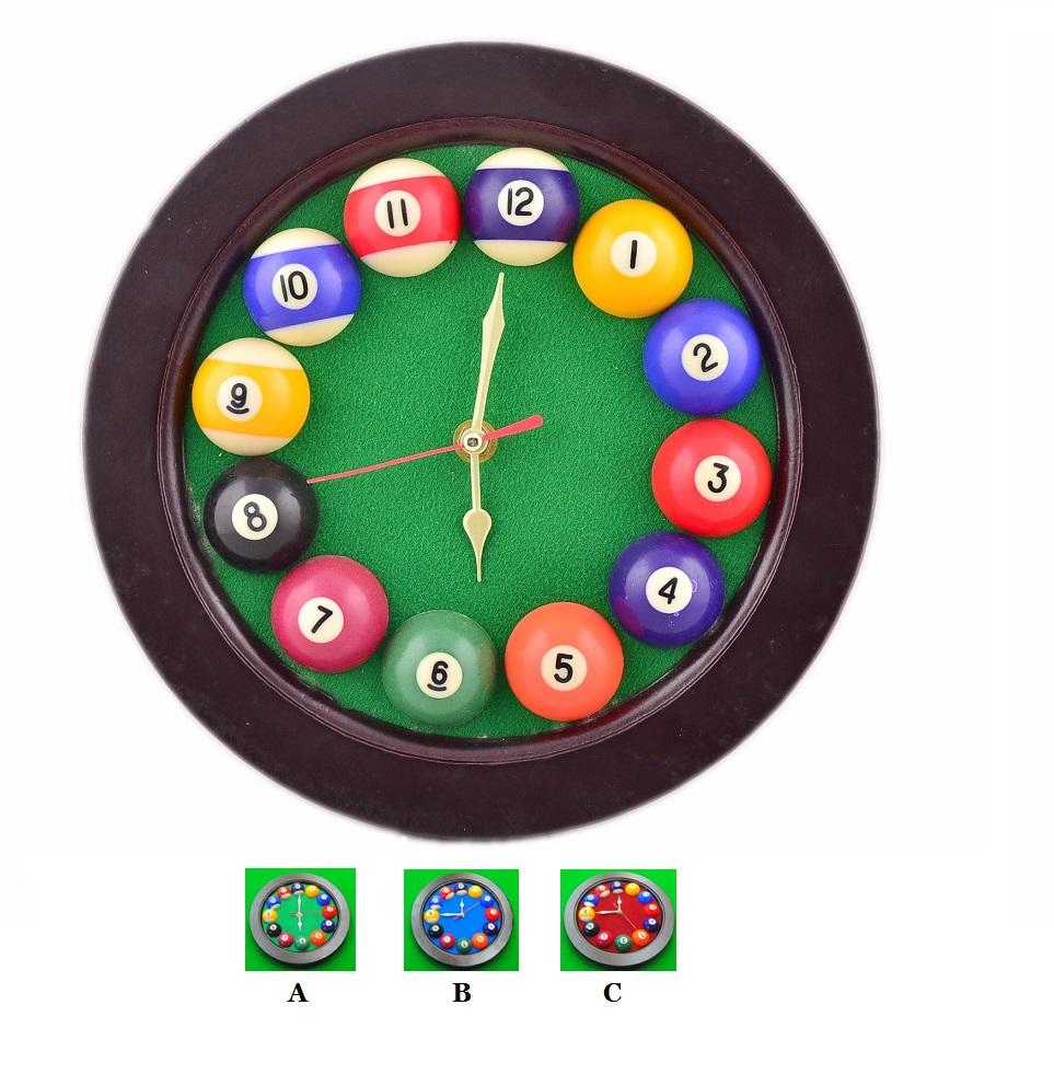 Billiard Pool Ball Wall Clock, Snooker club decorate product, Billiard ball accessory(China (Mainland))