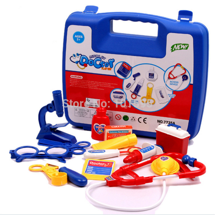 Toy Doctor Kit : New education multicolor children medical kit toy doctor