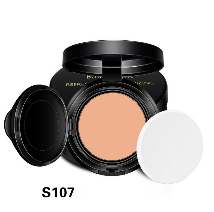 Brand Pure natural mineral pressed powder Moisturizing BB Balm Light Brighten BB concealer Face powder(China (Mainland))