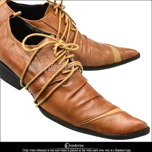 Hot Sales! 2014 New Popular British Style pointed toe Men's Businessl formal shoes, business leather shoes man, EU38-46